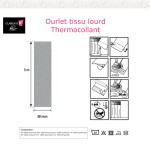 Ourlet thermocollant tissu lourd 38-Notice