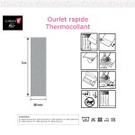 Ourlet thermocollant tissu simple 38-Notice