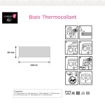 xbiais thermocollant-Notice